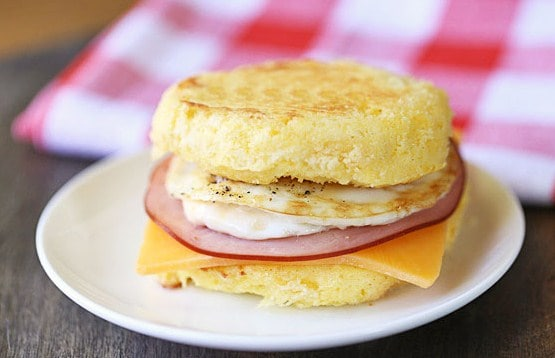 Keto Breakfast Sandwich-for weight loss