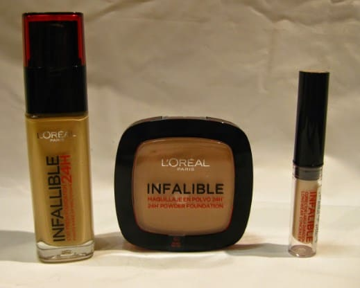 L'Oreal – Infallible Fresh Wear 24HR Foundation-Drugstore Foundations for Dry Skin