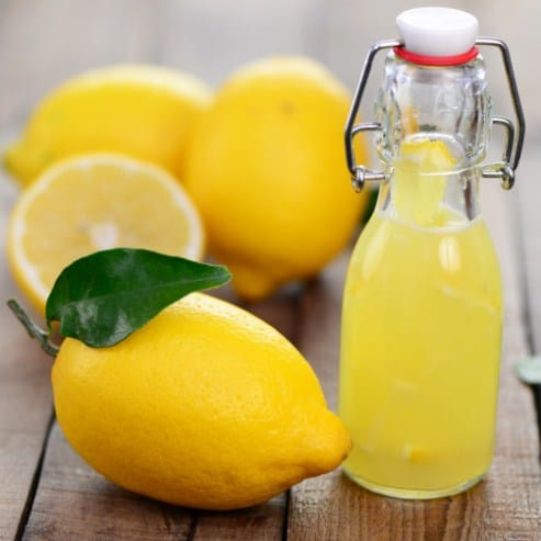 Lemon Juice-Home remedies for stretch marks