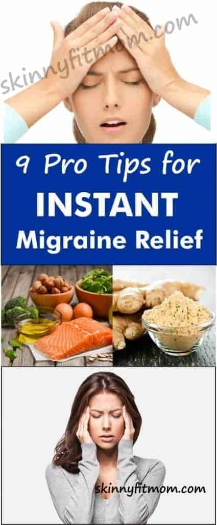 Here are some pro tips for getting rid of migraine headache. These tips provide instant relief from migraine pain without needing medications. Try them now for improved health. #Migraine #MigraineHeadache #MigraineRelief