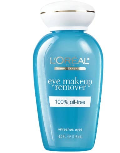 Oil-Free Eye Makeup Remover - Drugstore Makeup Products