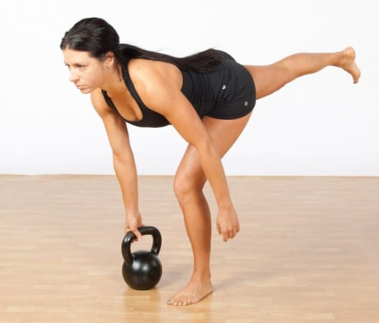 Single Leg Deadlift- Best Butt Exercises To Get A Firm, Lifted, And Rounded Booty
