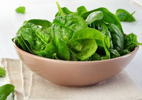 Spinach for Shedding-off Body Fat