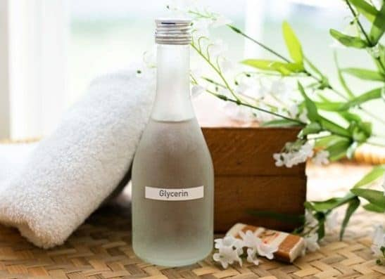 Vegetable glycerin for the body