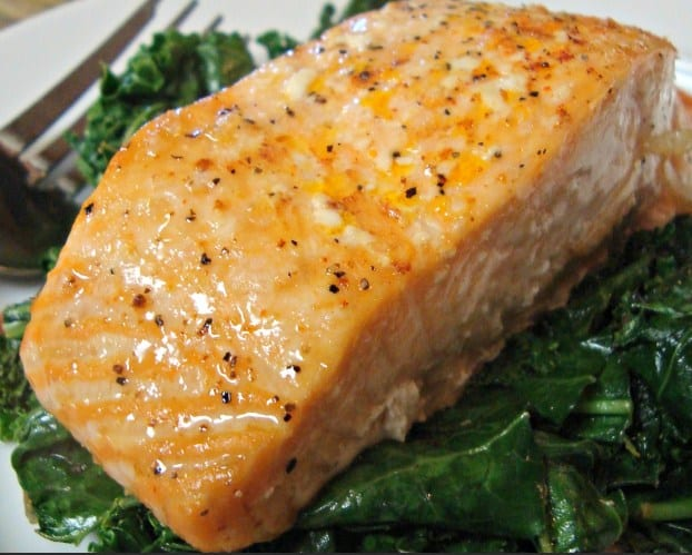 Broiled Salmon -12 Delicious Low Carb Keto Dinner Ideas