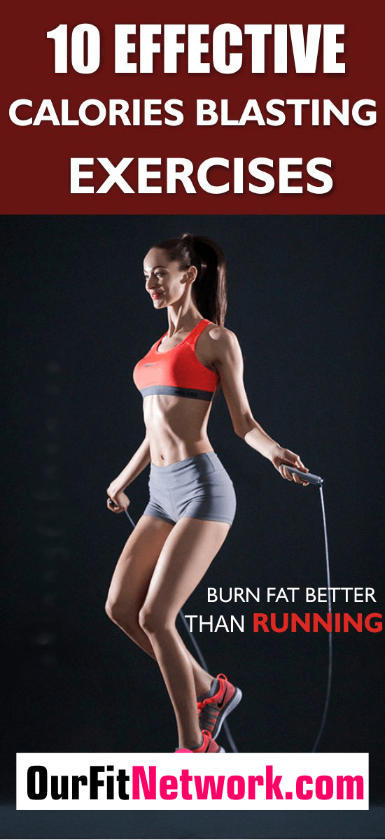 Many people want to burn fat but some workout routines scare them off especially running. There are blasting exercises that burn more fat than running in no time. Explore this post for more.