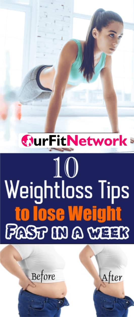 In this post, we have compiled ten best tips to help you lose weight. With these tips, you will get obvious results in a week. Try them!