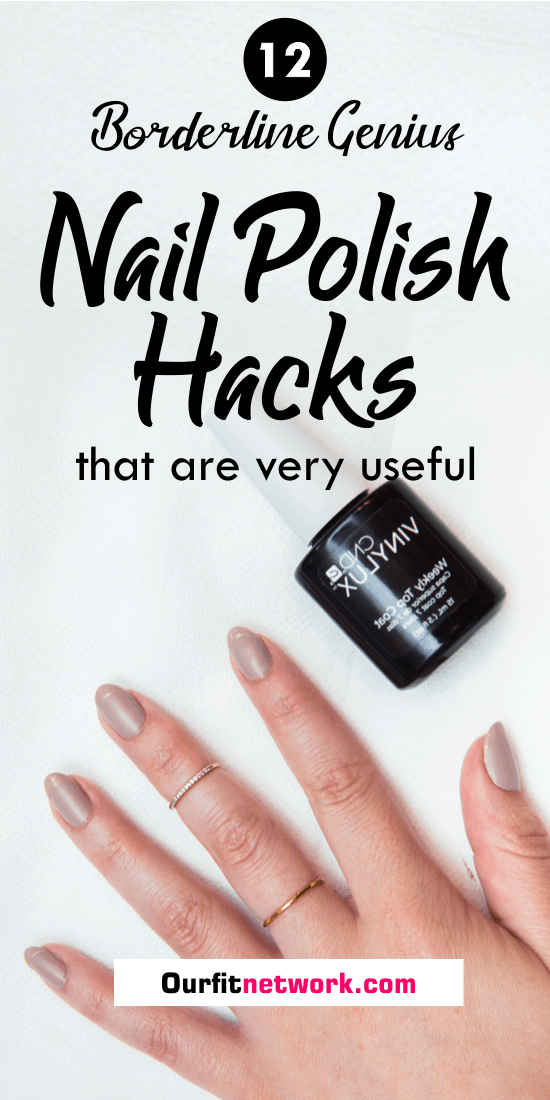 With these nail polish hacks and tricks, you can make your nails look like it was done by a technician. Check this post now for how to achieve brilliantly done nails.