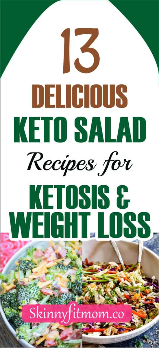 Keto salad was one of my favorite when I started my ketogenic diet. With keto salad, my weight loss journey was smooth and easy. Check out the delicious keto salad recipes for ketosis and weight loss in this post.