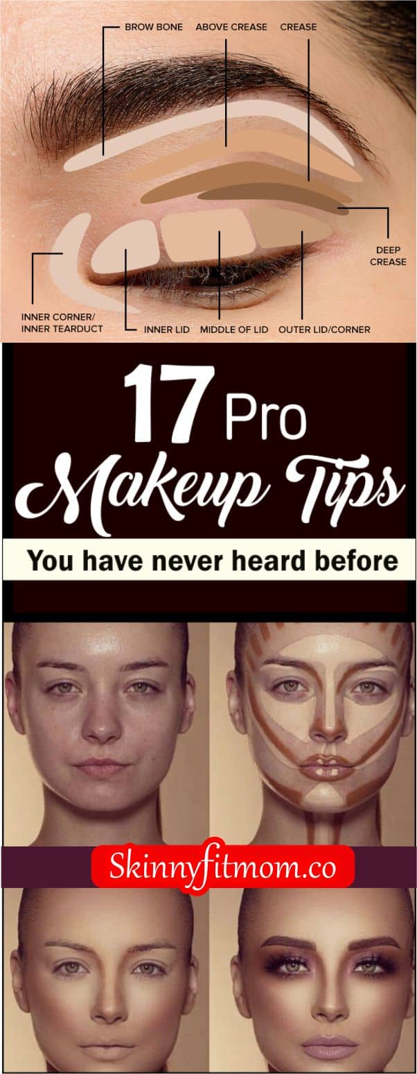 HAving a flawless makeup is the goal of everyone with makeup but most people face challenges doing this. Here are 17 pro tips that will help you achieve that flawless look you want easily. Check out this post for more makeup hacks.