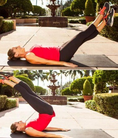 Criss Cross Lift and Switch - Lower Ab Exercises
