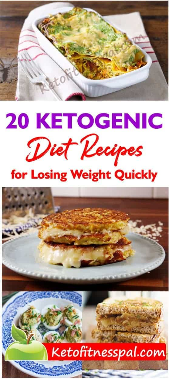 Check out these 20 ketogenic recipes! Not only are they absolutely delicious, but they are also nutritious and well-suited for anyone who is following a ketogenic diet to lose weight.
