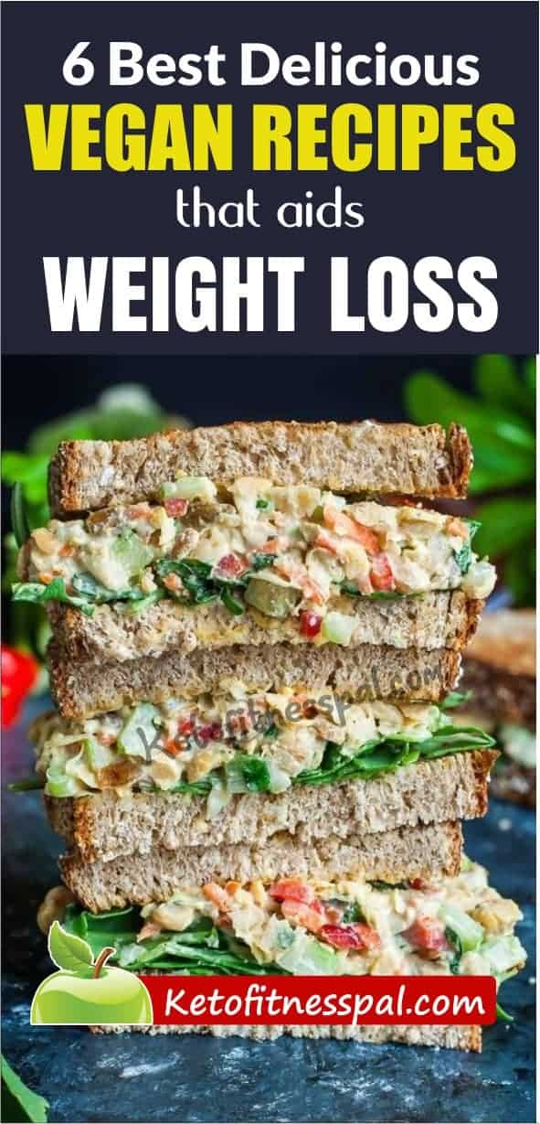 Searching for easy healthy meals to incorporate into your weight loss process? Here are 6 best delicious vegan recipes with which you will lose weight easily and quickly. Check out this post for the recipes.