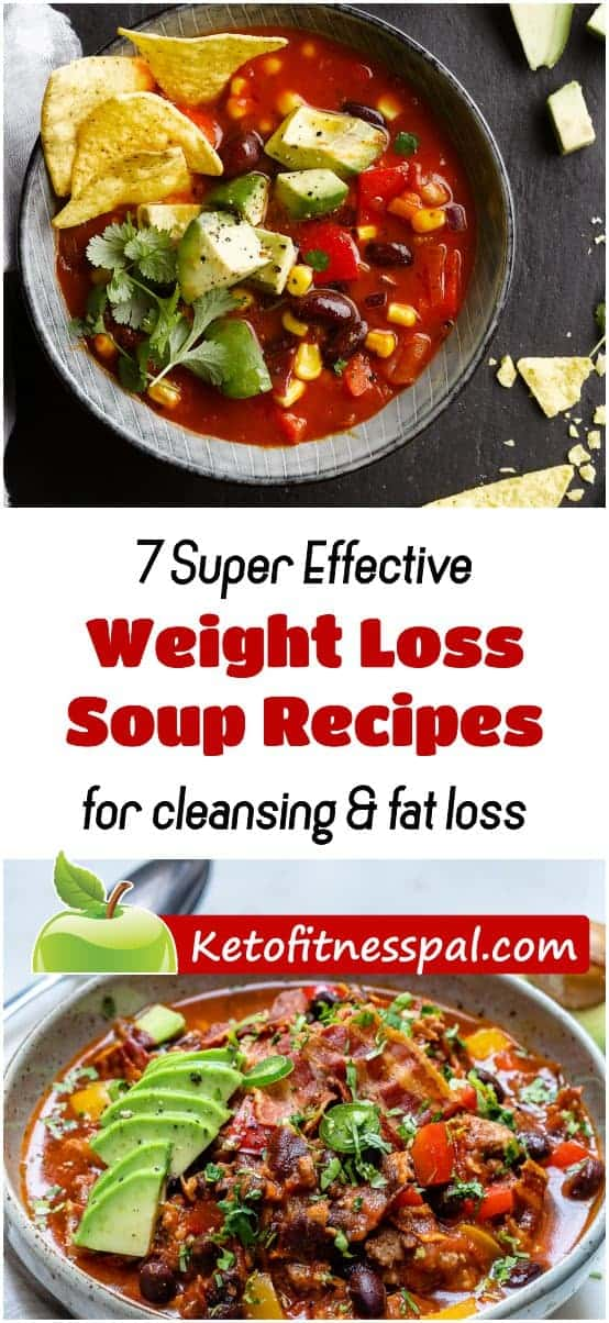 Who told you that you can't enjoy sumptous soups during weight loss. It will intrest you to know that some of these delicious soups aids fats weight loss and fat burning. Here are some of these weight loss soups for cleansing and their recipes.