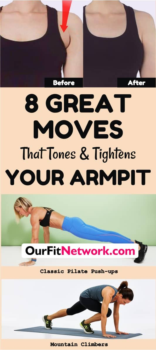 Armpit fat is a nightmare that everyone, including supermodels, suffer from. However, with these best moves for toning and tightening arms, you are sure to get rid of armpit fat in no time. Check this post now for more.