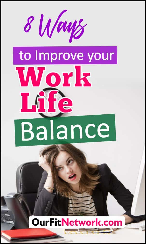 Balancing work and life is a difficult thing for most people but trust me there is a way around it. With these 8 amazing ways ,you can easily improve your work-life balance. Check out this post for that balanced lifestyle you want. #lifestyle #work-life #balancedlife