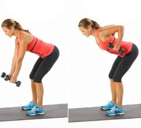 Bent Over Rows- 10 Body Training Workouts for Stamina