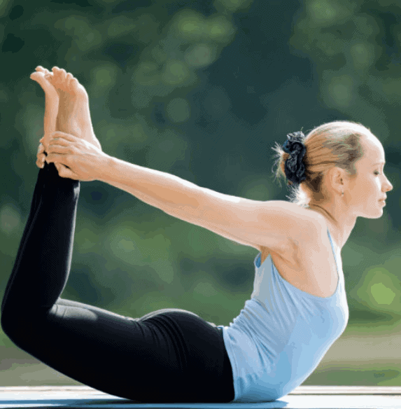 Bow Pose Yoga Pose For breast tightening
