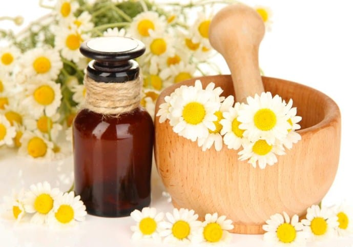 Chamomile essential oil- Essential Oils for treating Skin problems