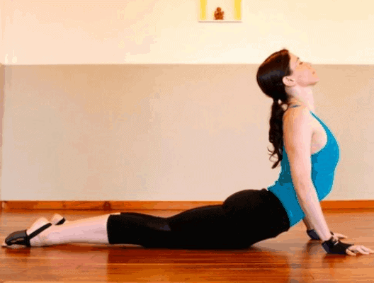 Cobra Pose for Excess Belly Fat
