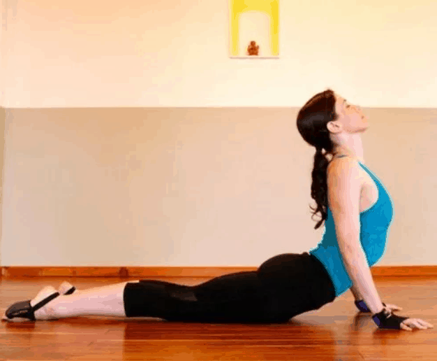 Cobra Pose for saggy breasts