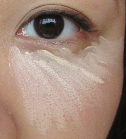 Concealing your under eye