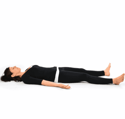 Corpse Pose- 8 Powerful Yoga Poses To Reduce Stubborn Belly Fat