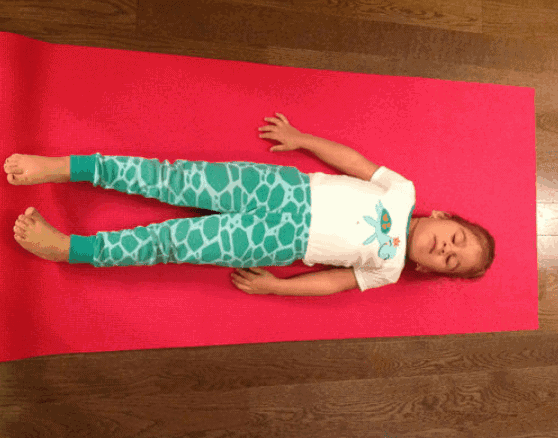 Corpse Pose-Best Relaxing Yoga Poses For Kids