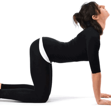Cow Pose (Bitilasana)- Best Yoga Poses For Quick Pain Relief