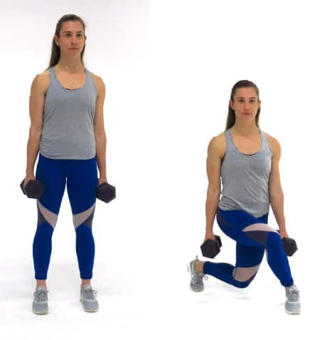 Curtsy Lunge-Butt Lift Workout for Bigger Butt