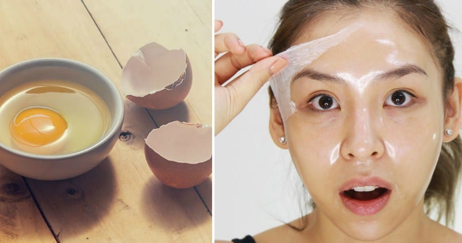 Egg as a skincare product