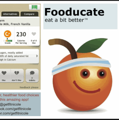 Fooducate-Apps to help you track your calories