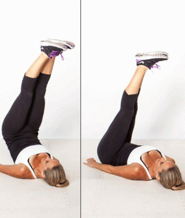 Hip Lift Ab Workout - Exercises To Get Rid Of Belly Pooch