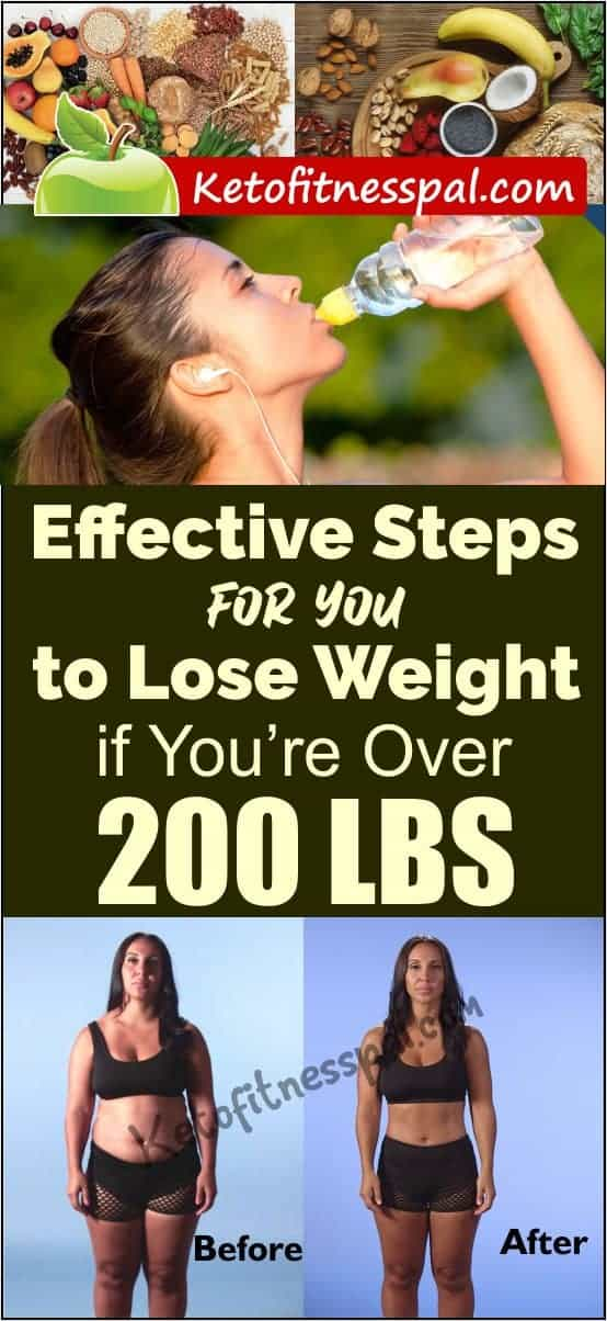 If you are looking to lose weight after hitting the 200Lbs mark, you are in the right place. This post contains the smartest, and most effective steps to weight loss. These tips will also help you to keep weight off after shedding it.