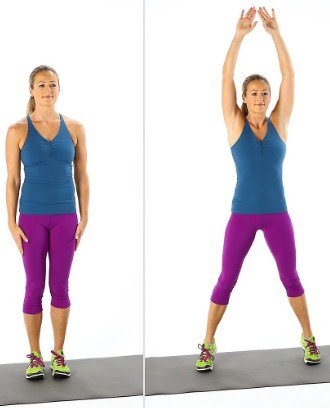 Jumping Jack- 10 Full Body Strength Training Workouts