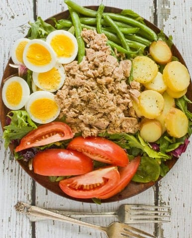 Keto Salad Nicoise- 20 Ketogenic Diet Recipes You Should Try