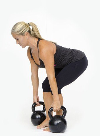 Kettlebell Deadlift- 8 Kettlebell Moves to Burn 400 Calories in 20 Minutes