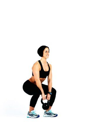 Kettlebell Squat- 8 Kettlebell Moves to Burn 400 Calories in 20 Minutes