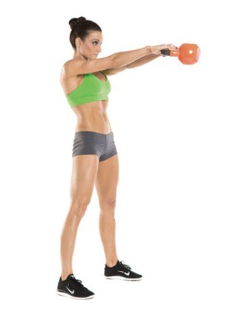 Kettlebell Swing- 8 Kettlebell Moves to Burn 400 Calories in 20 Minutes