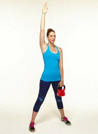 Kettlebell Windmill- 8 Kettlebell Moves to Burn 400 Calories in 20 Minutes