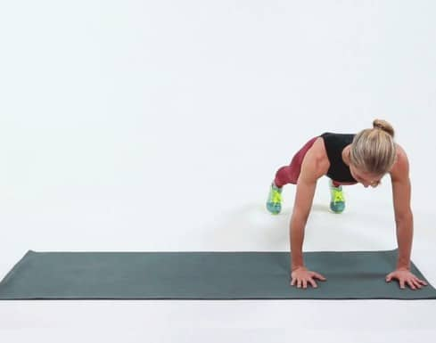 Lateral Plank Walk - Amazing Moves That Tones and Tightens Armpit