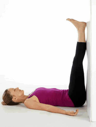 Legs Up The Wall- Yoga Poses to Ease Anxiety and Depression