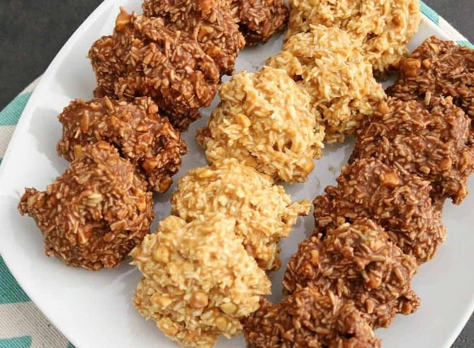 No-Bake-Coconut-Cookies for fat burning