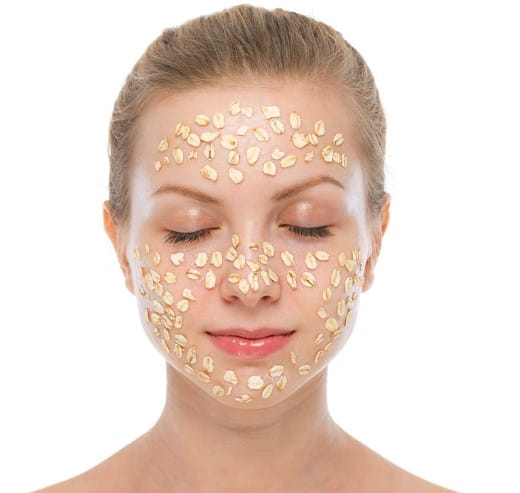 Oatmeal Mask For Closing up open pores