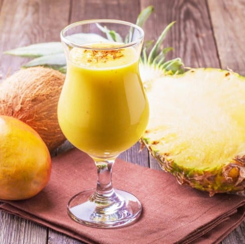 Pineapple Smoothie for losing weight