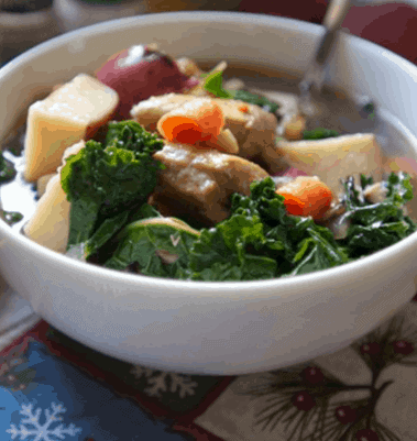 Potato and Kale Soup- Kale Diet For Weight Loss