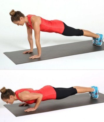Push-Ups- 10 Full Body Workouts for Stamina