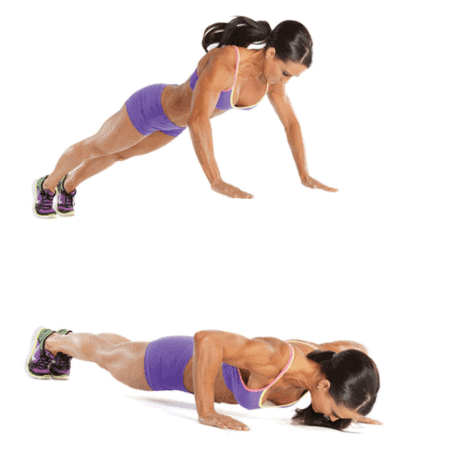 Push-Ups- 10 Best Fat Burning Workouts for Quick Weight Loss