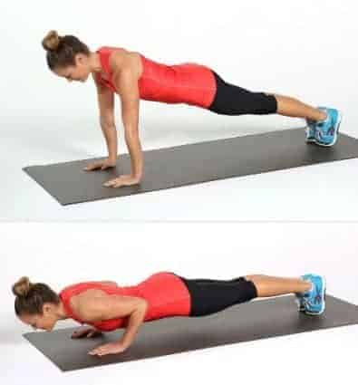 Pushup-Top 10 Exercises to Lift and Firm Sagging Breasts Fast at Home