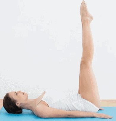 Raised Foot Pose- 8 Effective Yoga Poses For Belly Fat